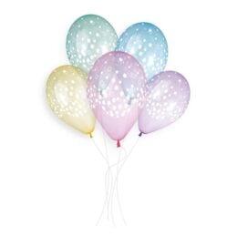 Μπαλόνια τυπωμένα Κομφετί