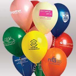 Εκτύπωση σε μπαλόνια