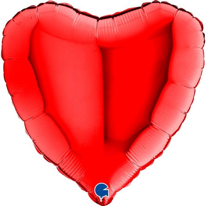 Μπαλόν Καρδιά Κόκκινη 18″