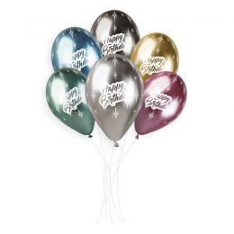 Μπαλόνια Happy Birthday Shiny