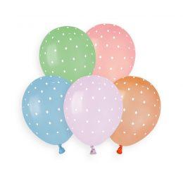 Μπαλόνια μικρά Πουά 5″