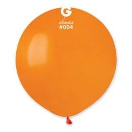 Πορτοκαλί μεγάλο μπαλόνι 19″