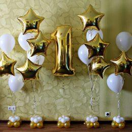 Golden Star 1st Birthday
