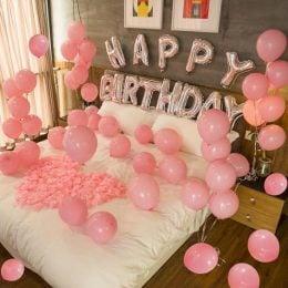 Happy Birthday Bedroom Decoration