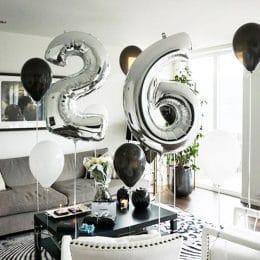 Minimal Birthday Decoration