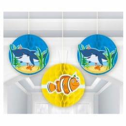 Διακοσμητικά οροφής Ψαράκια (3 τεμ)