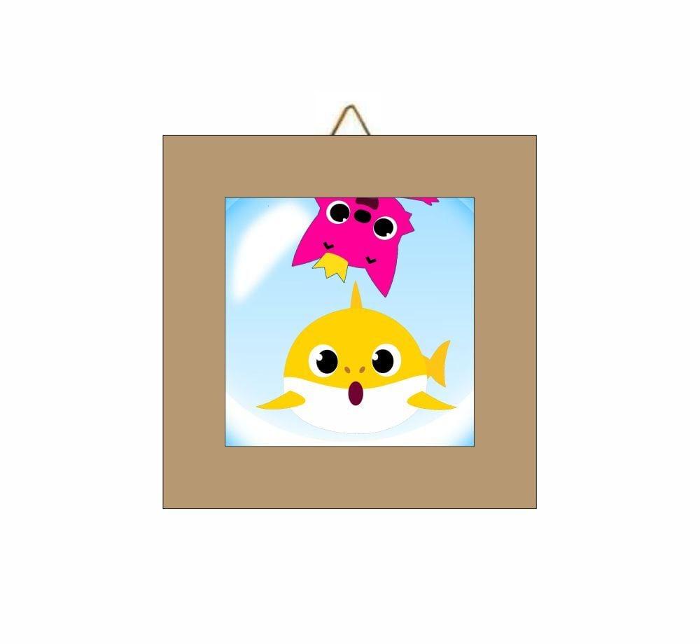 Καδράκι Baby Shark