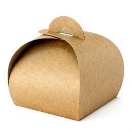 Κουτί κραφτ για μπομπονιέρα (10 τεμ)