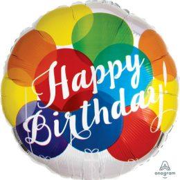 Μπαλόνι Birthday Balloons 43cm