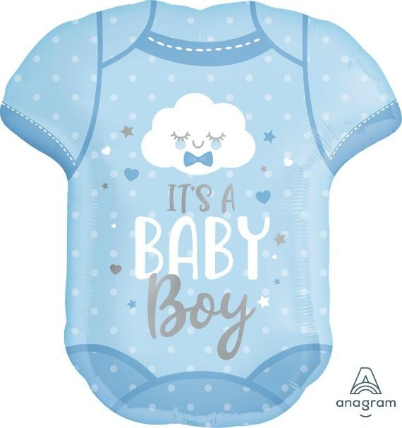 Μπαλόνι Φορμάκι Baby Boy 60cm