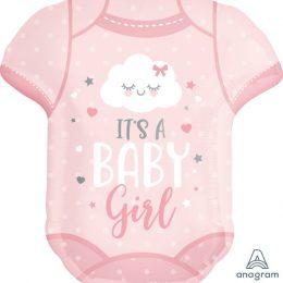 Μπαλόνι Φορμάκι Baby Girl 60cm