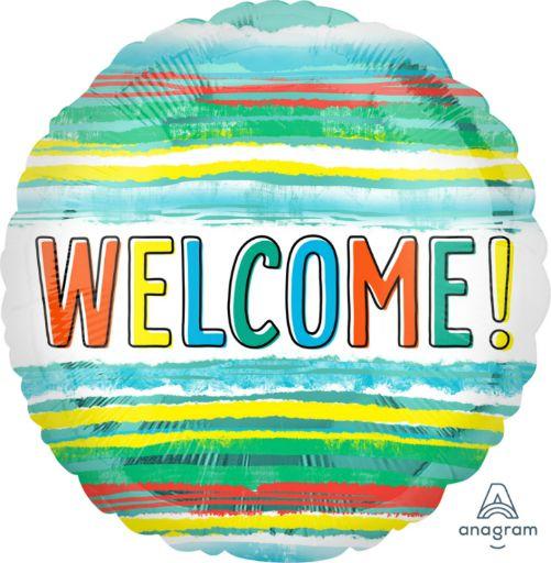 Μπαλόνι Welcome Watercolor 45cm