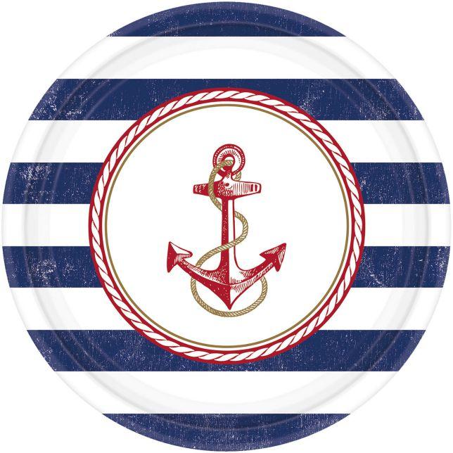 Πιάτα Ναυτικό – Άγκυρα (8 τεμ)
