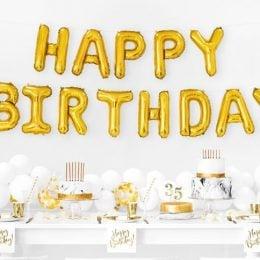 Σετ μπαλονιών Happy Birthday