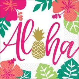 Χαρτοπετσέτες Aloha (16 τεμ)