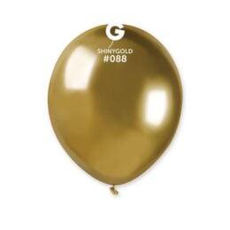 """5"""" Χρυσό Shiny λάτεξ μπαλόνι"""