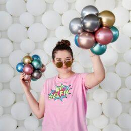 5'' Shiny λάτεξ μπαλόνι