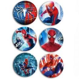 Κονκάρδες Spiderman (5 τεμ)