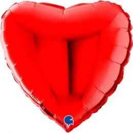 Μπαλόνι Καρδιά Κόκκινη 22″