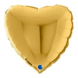 Μπαλόνι Καρδιά Χρυσή 22″