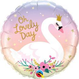 Μπαλόνι Κύκνος Oh Lovely Day
