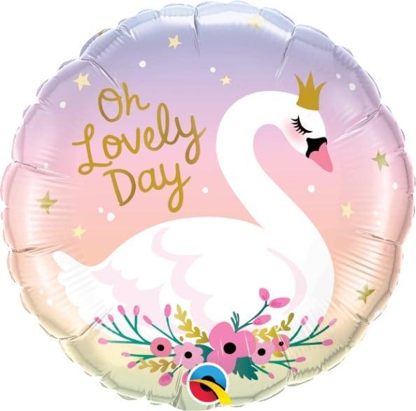 Μπαλόνι Κύκνος Oh Lovely Day 46cm