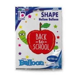 Μπαλόνι Μήλο Back to School 102cm