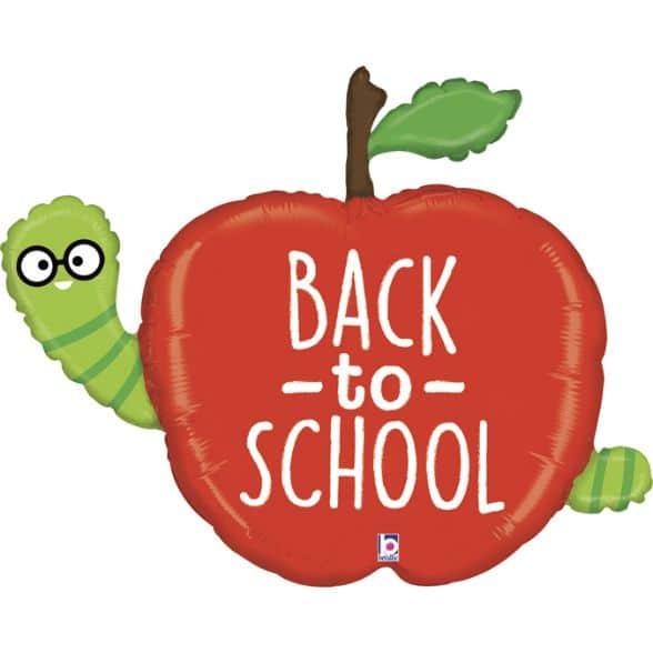Μπαλόνι Μήλο Back to School