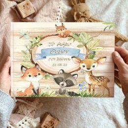 Βιβλίο ευχών Ζώα του Δάσους