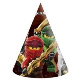 Καπελάκια πάρτυ Lego Ninjago