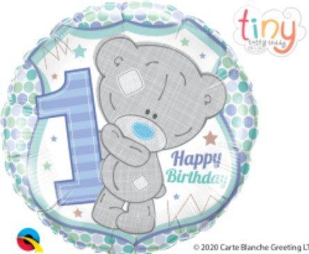 Μπαλόνι Αρκουδάκι 1st Birthday Boy
