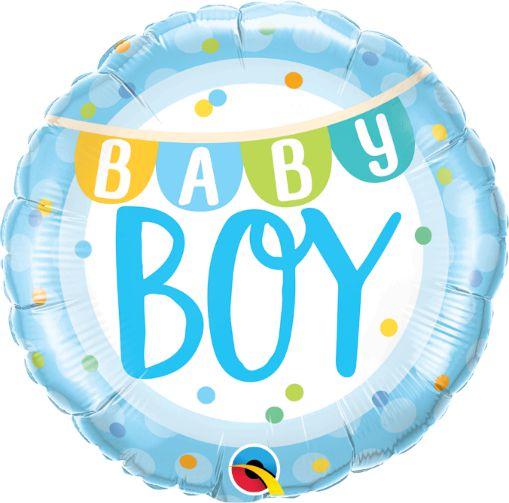 Μπαλόνι Baby Boy Banner