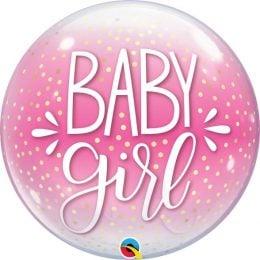 Μπαλόνι Bubble Baby Girl