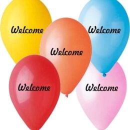 13″ Μπαλόνι Welcome