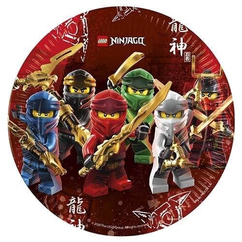 Πιάτα Lego Ninjago (8 τεμ)