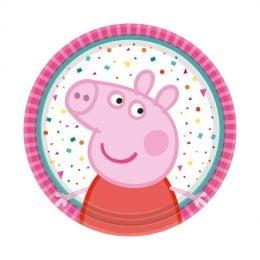 Πιάτα Peppa Pig (8 τεμ)