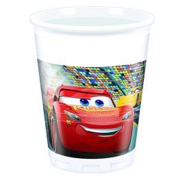 Ποτήρια Αυτοκίνητα Cars (8 τεμ)