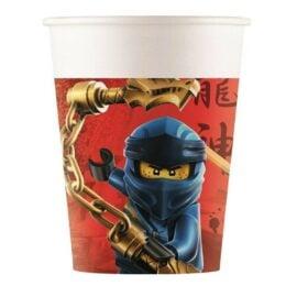 Ποτήρια Lego Ninjago (8 τεμ)