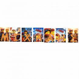 Σημαιάκια με όνομα Lego Ninjago