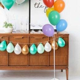 Στήλη για μπαλόνια με νερό Helium Efect