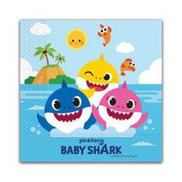 Χαρτοπετσέτες Baby Shark (20 τεμ)
