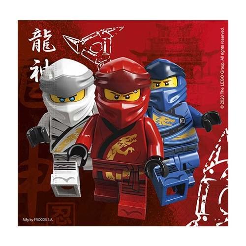 Χαρτοπετσέτες Lego Ninjago (20 τεμ)