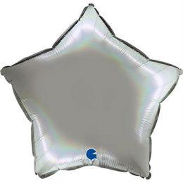 """Μπαλόνι Αστέρι Holographic 18"""""""