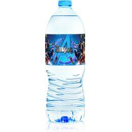 Ετικέτες για μπουκάλια νερού Avengers