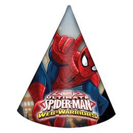 Καπέλα Spiderman (6 τεμ)
