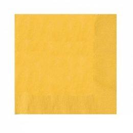 Κίτρινες Χαρτοπετσέτες (50 τεμ)