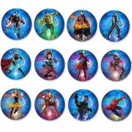 Κονκάρδες Avengers (6 τεμ)