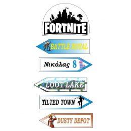 Ξύλινες Πινακίδες Fortnite