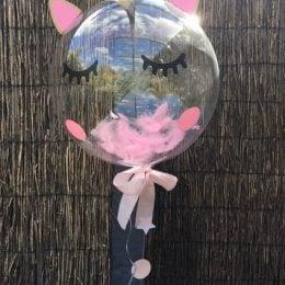 Μπαλόνι Bubble Ματάκια