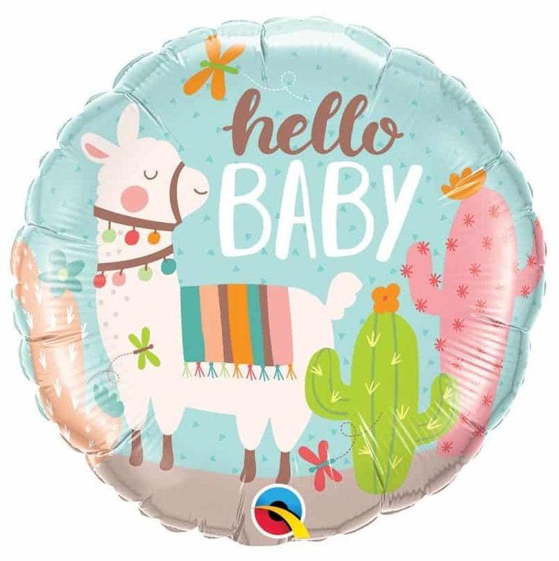 Μπαλόνι Hello Baby Λάμα